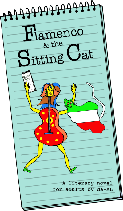 Flamenco & the Sitting Cat proposed cover.