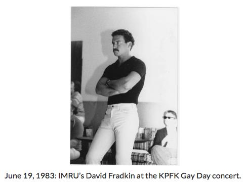 David Fradkin 1982