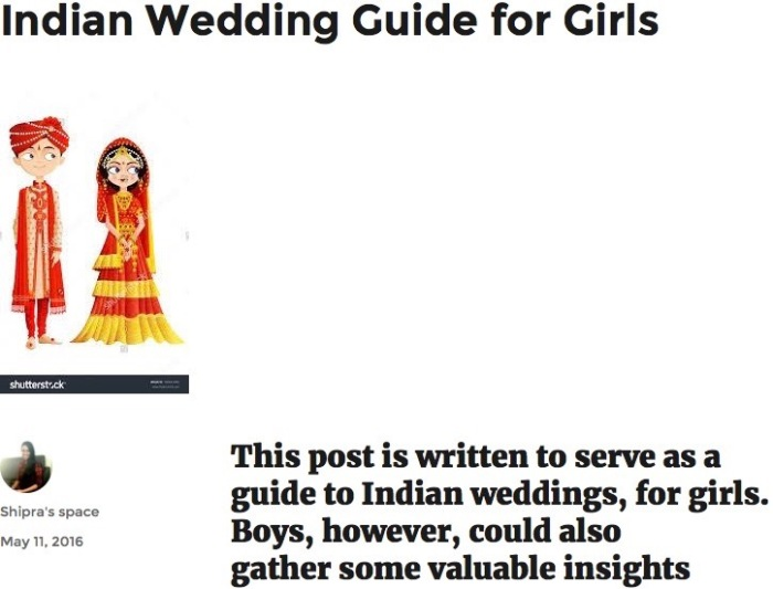 Indian Wedding Guide for Girls