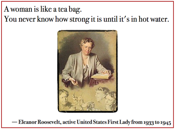 Eleanor Roosevelt quotation