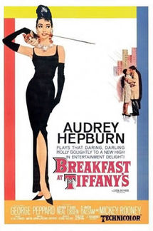 "Poster for ""Breakfast at Tiffany's"" from Wikipedia."