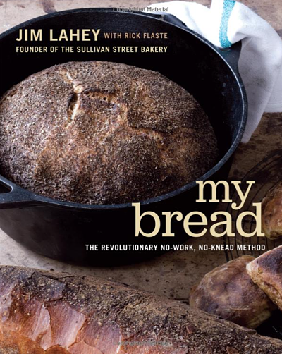 """My Bread"" by Jim Lahey book cover"