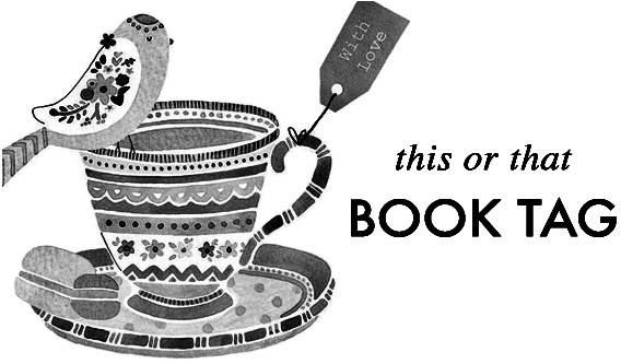 this or that Book Tag logo