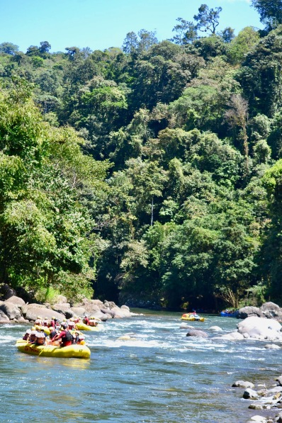 Rafting Pacuare River, Costa Rica