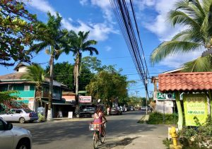 Downtown Puerto Viejo de Talamanca.