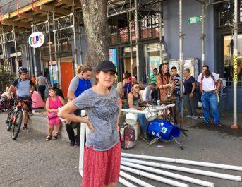 Downtown street music, San Jose, Costa Rica.