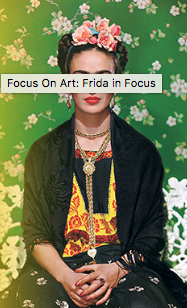 Just one of the many Frida Kahlo photos in MOLAA's latest ode to her.
