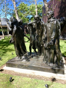 One of many Rodin sculptures at Pasadena's Norton Simon Museum