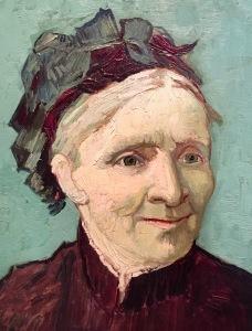 Van Gogh's portrait of his mom