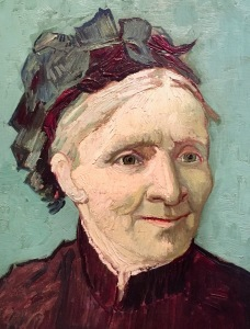 Van Gogh's portrait of his mom