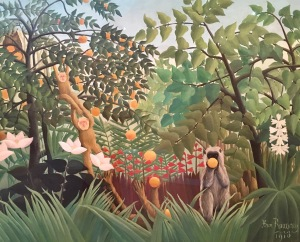 Henri Rousseau's Exotic Landscape