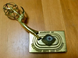 My old Emmy Award that I had to send back