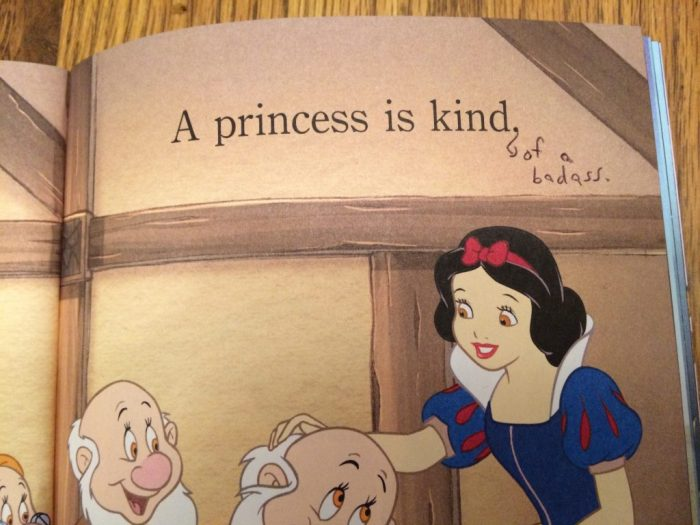 Snow White gets edited up!