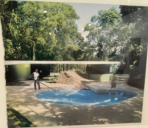 Fernando and the Pool by Ramiro Gómez Jr.