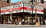 Powells Books, Portland, Oregon