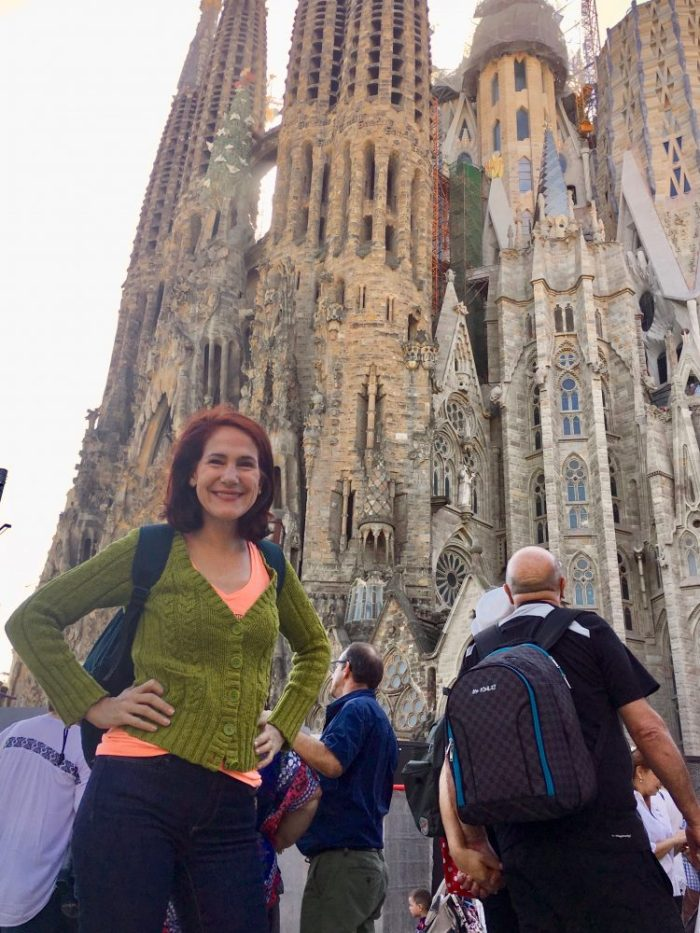 da-AL at the Basilica of the Sagrada Familia