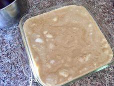 First layer of tiramisu