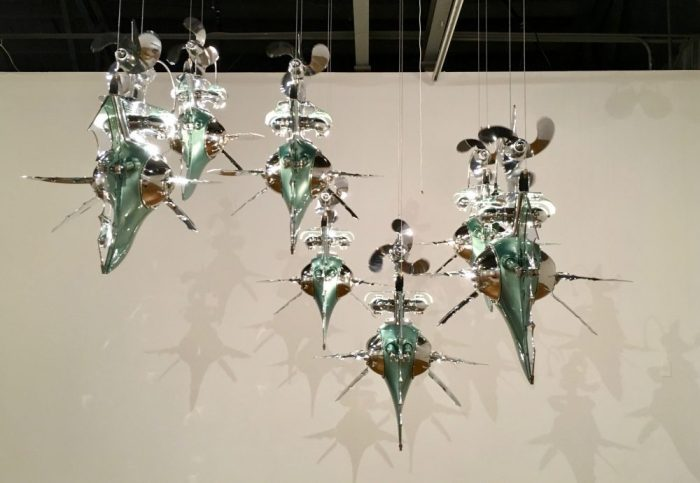 Photo of Seven Fishes from recycled parts by Cristian Castro