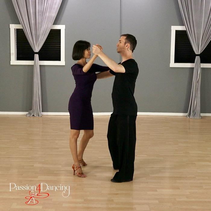 Leon Turetsky partner dances