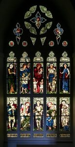 Stained glass at The Huntington