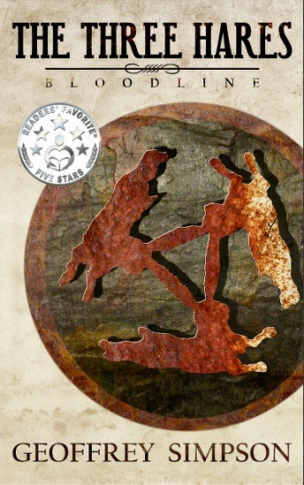 Cover of Geoffrey Simpson's book, The Three Hares