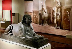 Assyrian sphynx
