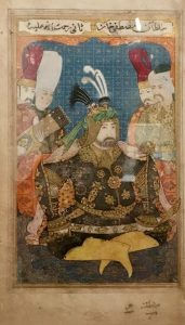 Ottoman Sultan Mustafa II by Levni (Turkey 1700-1720)