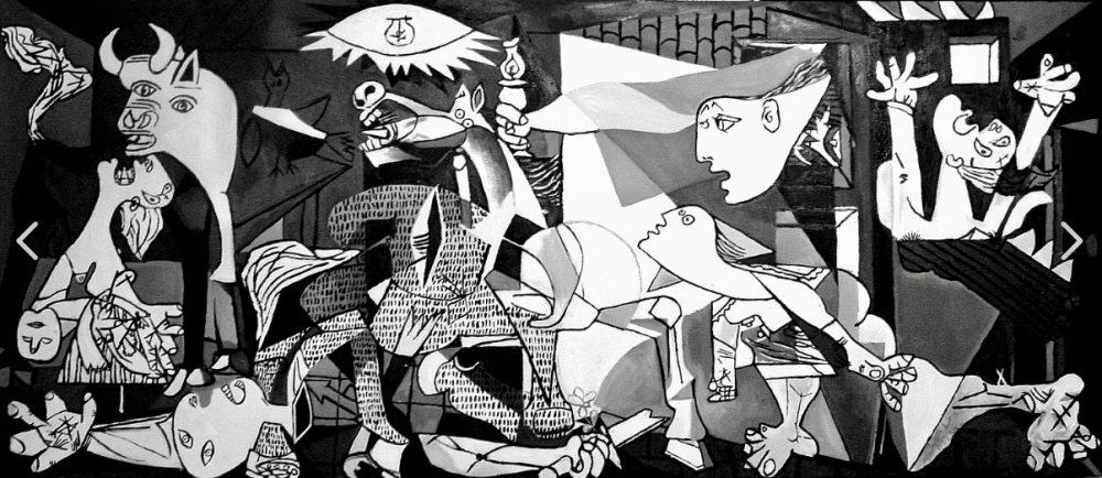 Picasso's Guernica Painting.