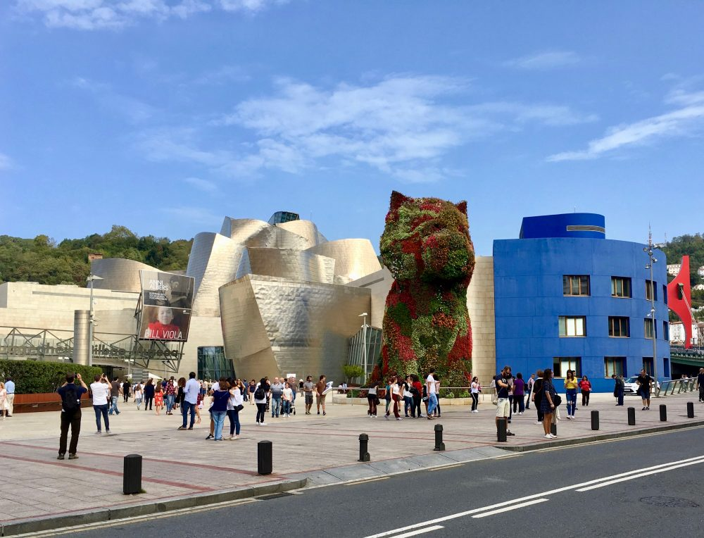 The Guggenheim Bilbao, Spain