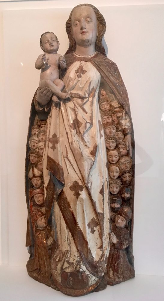Madonna and Child Sheltering Supplicants under her Cloak, 1470, by Peter Koellin.