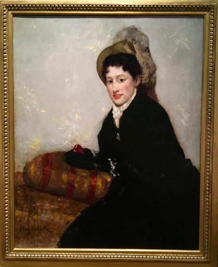Portrait of Madame X Dressed for the Matinée, 1877-1878, by Mary Stevenson Cassatt.