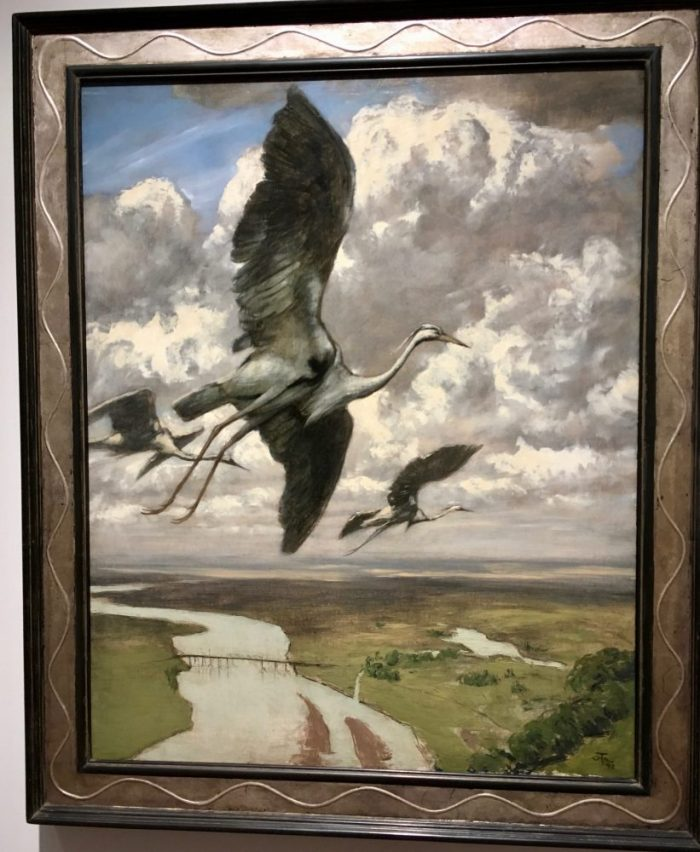 Wondrous Birds, 1892, by Hans Thoma.