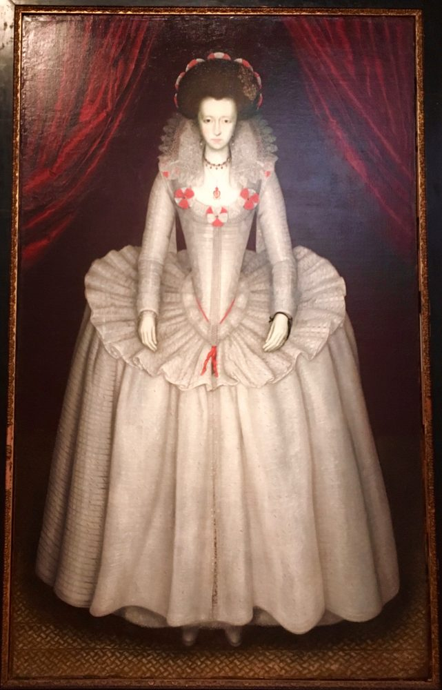 Portrait of a Lady, circa 1610, British School.