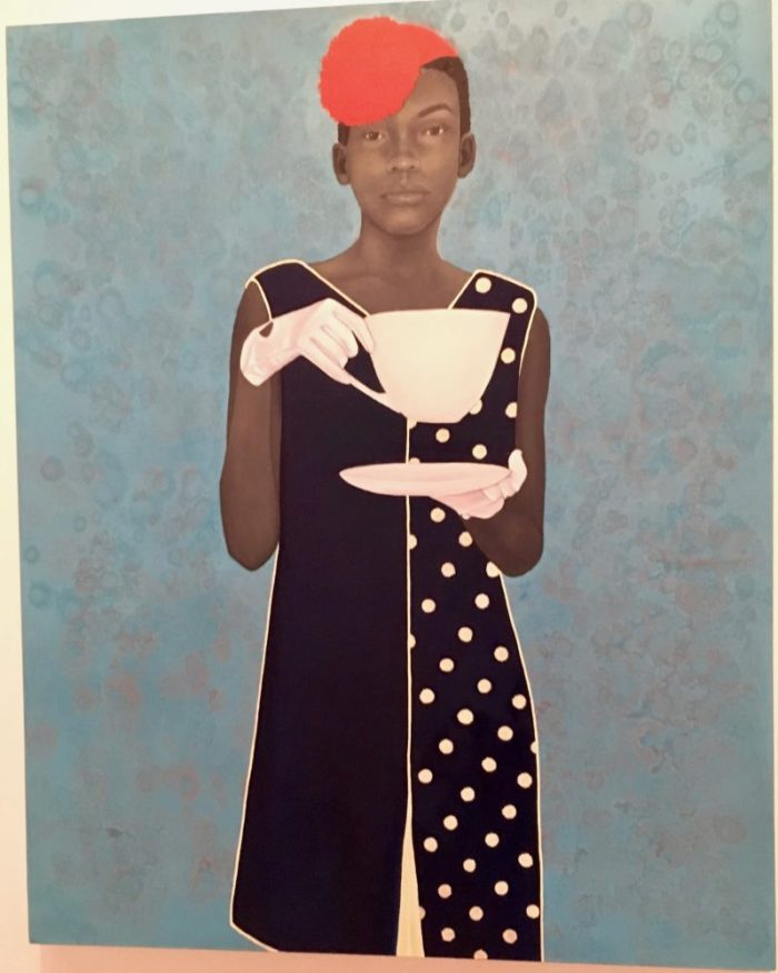 Miss Everything (Unsuppressed Deliverance), 2013, by Amy Sherald