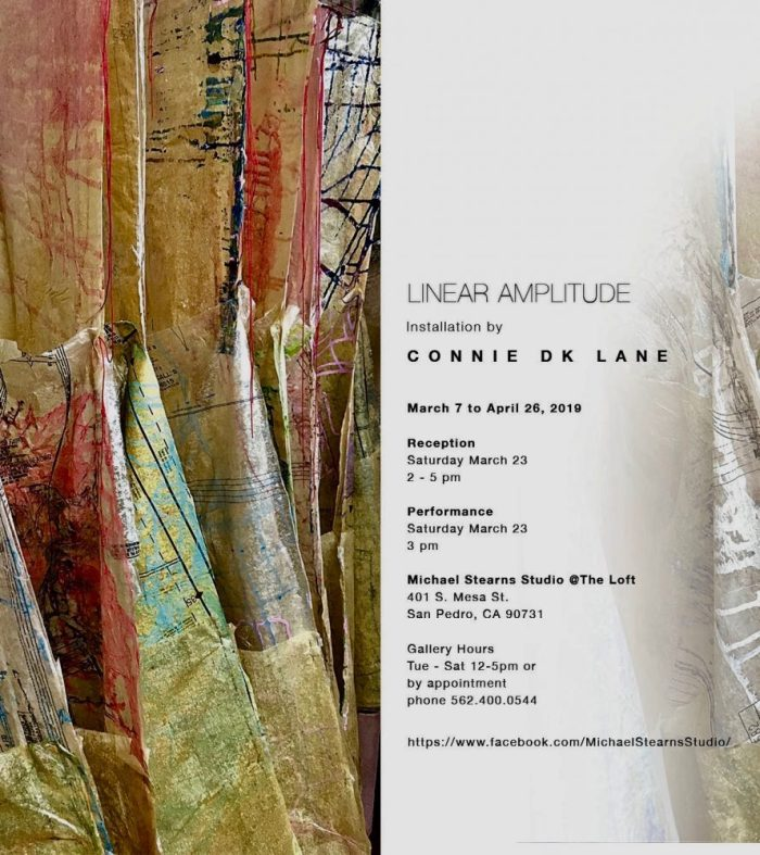 Info for Connie DK Lane's Linear Amplitude art installation