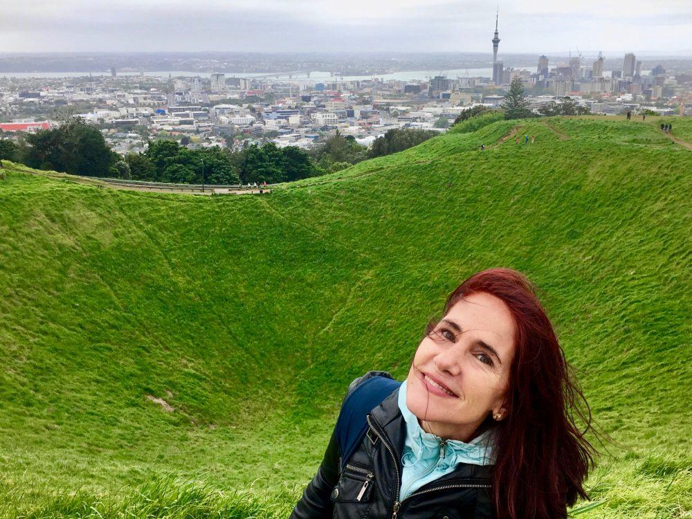 da-AL at non-active crater, Mount Eden, Auckland, New Zealand.