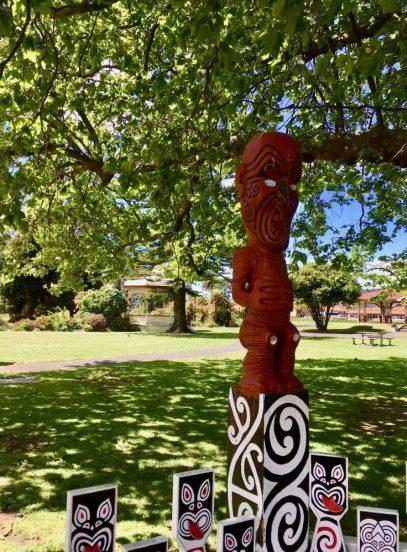 Historic Rotorua honors its Māori heritage.