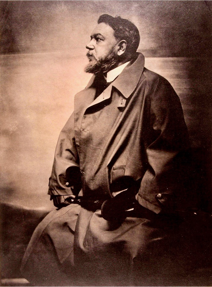 Platinum print of impressionist artist Joaquín Sorolla by pioneering American photographerGertrude Käsebier