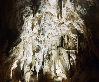 The minerals sideways...