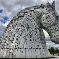 The Kelpies of Scotland by da-AL