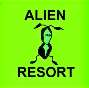 The folks of Alien Resort are colorful, to say the least.