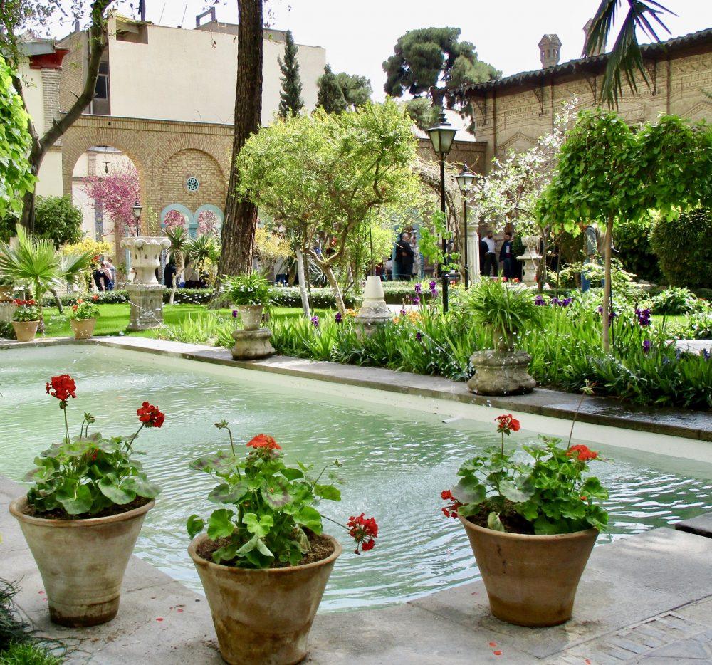 Flowers in Spring in Tehran.