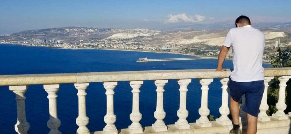 Mr. Nahas visits a city near Beirut, Lebanon.