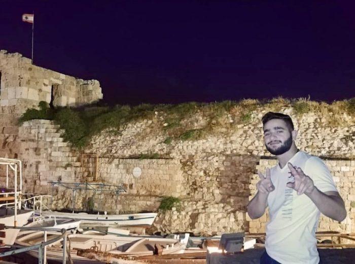 Mr. Nahas visits Byblos, Lebanon.