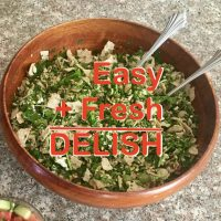 Amazingly Tasty Easy Healthy Eats Recipe: Khashayar Parsi's Herb Salad