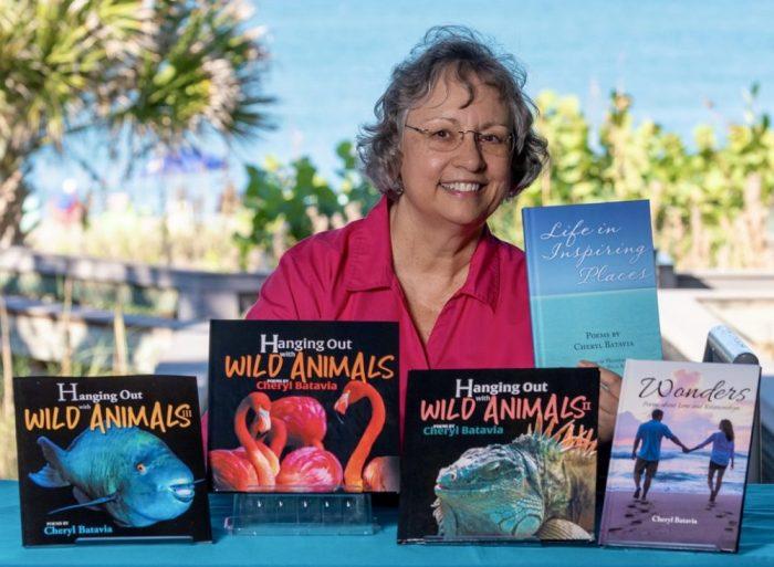 Photo of Cheryl Batavia at Manasota Beach, FL, Gulf of Mexico, by Stephanie Snow Photography.