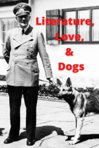 Photo of Hitler with a dog.