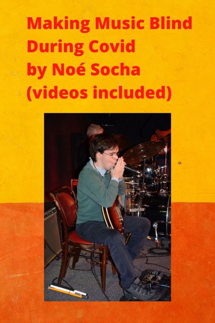 Musician Noé Socha.