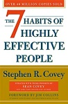 """Cover of """"The 7 Habits of Highly Successful People,"""" by Stephen R. Covey."""