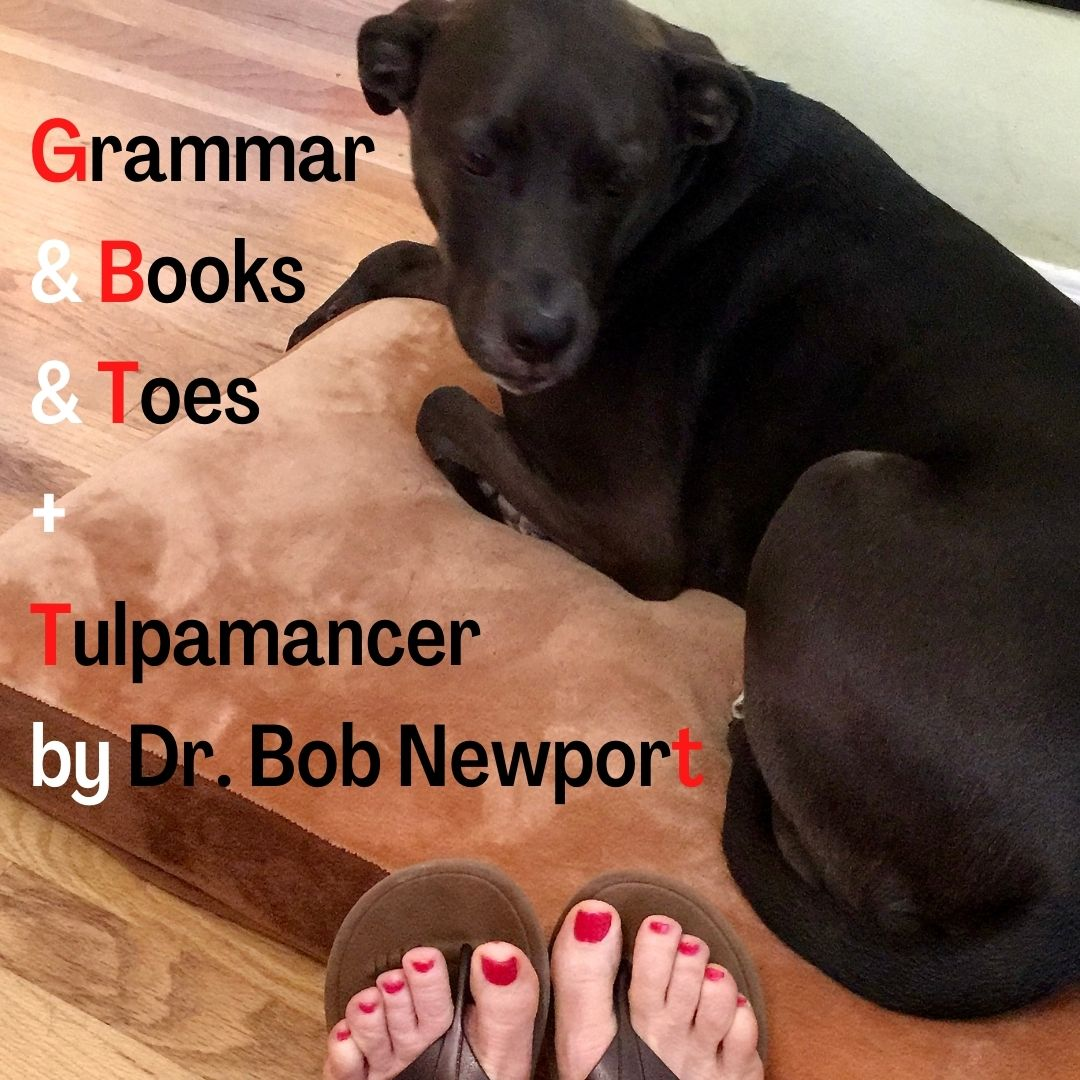 Photo of K-D doggie and da-AL's newly red-painted toes.